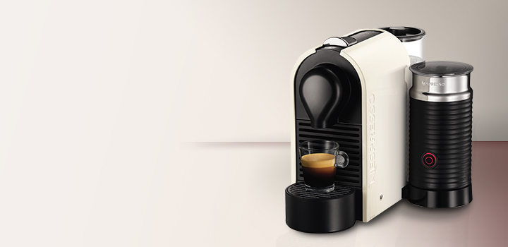 nespresso breville 39 u 39 coffee machine bec300mw the good blog. Black Bedroom Furniture Sets. Home Design Ideas