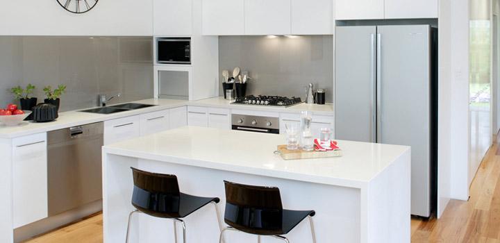 Amazing $30,000 Brand New Kitchen Makeover   The Good Blog